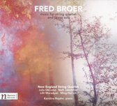 Fred Broer: Music for String Quartet and Piano solo