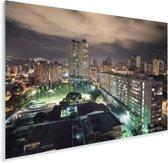 Nachtelijke skyline Caracas Venezuela Plexiglas 90x60 cm - Foto print op Glas (Plexiglas wanddecoratie)