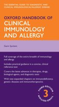 Omslag van 'Oxford Handbook of Clinical Immunology and Allergy'