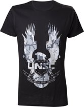 Officieel gelicenseerd - Halo - UNSC Logo T-shirt - Heren - S