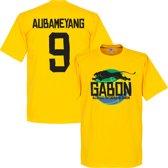 Gabon Logo Aubameyang T-Shirt - XL
