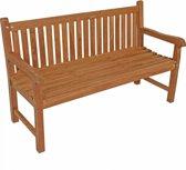 Tuinbank Teak houten tuinbank - tuinmeubel 150 cm