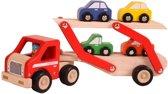 Santoys Autotransporter incl. 4 Auto's