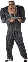 Maffia Kostuum | Vuile Werkjes Maffia Gangster Tony | Man | Large | Carnaval kostuum | Verkleedkleding