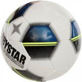 Derbystar Classic Light - Voetbal - wit/blauw/geel/zwart