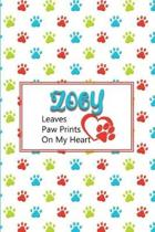 Zoey Leaves Paw Prints on My Heart