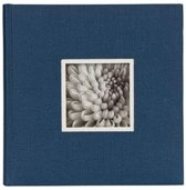 "D""rr UniTex Book Bound Album 23x24 cm blue"