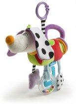 Taf Toys Grijspeeltje met bijtring Langoor hond voor box en wandelwagen - 0 - 24 mnd