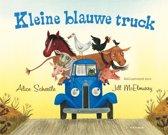 Kleine blauwe truck