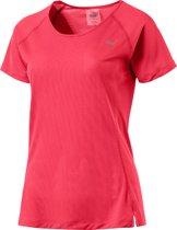 PUMA Core-Run S/S Tee Sportshirt Dames - Paradise Pink