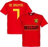 België De Bruyne Team T-Shirt - XL