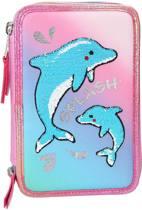 Top Model - Fantasy 3-vaks Etui - Dolphins (0410220)