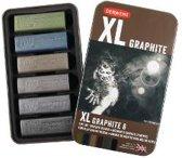Derwent Graphite XL in blik 6 stuks