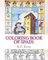 Coloring Book of Spain.