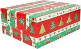 Kerst inpakpapier print 9 - cadeaupapier / kadopapier