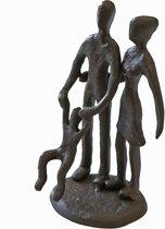 Sculptuurtje Gezin