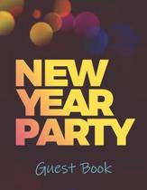 New Year Party Guest Book