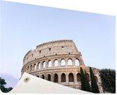 Colosseum Tuinposter 60x40 cm - klein - Tuindoek / Buitencanvas / Schilderijen voor buiten (tuin decoratie)