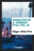 Narrative of A. Gordon Pym; Vol. IX