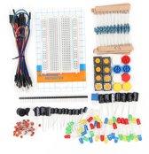 Arduino Geschikte Componenten Starters Set - Weerstanden / Condensator / LEDS / Mini Breadboard
