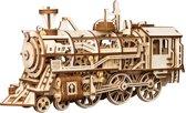 Robotime Locomotief LK701 - Houten Modelbouw