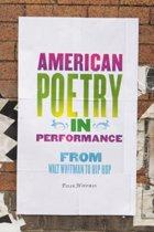 American Poetry in Performance