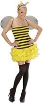 Bij & Wesp Kostuum | Zoemend Bijtje, Sexy Kostuum Vrouw | Large | Carnaval kostuum | Verkleedkleding