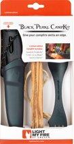 Light My Fire Survivalset Cadeaubox t.w.v. 49,95 euro – Fireknife + Firesteel + Spork + Tinder on a Rope– Survival Kampeerset Outdoor Cadeau Voor Mannen Geschenkverpakking