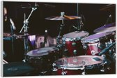 Plexiglas – Drumstel – 90x60cm (Wanddecoratie op Plexiglas)