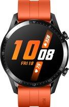 Huawei Watch GT 2 - Oranje - Fluoroelastomer band