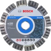 Bosch - Diamantdoorslijpschijf Best for Stone 150 x 22,23 x 2,4 x 12 mm