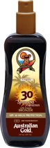 Australian Gold Spray Gel Sunscreen Met Bronzer - 237 ml - SPF 30
