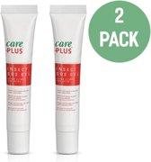 2X Care Plus Insect SOS Gel 20ml - helpt na steken van de mug, de wesp, de paardenvlieg en na een kwallenbeet