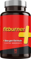 Fitburner+ Vetverbrander | Snel Verantwoord Afvallen | Afslankpillen |  90 Plantaardige Capsules