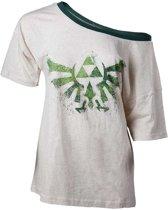 The Legend of Zelda - Off Shoulder Ladies T-Shirt - Maat S