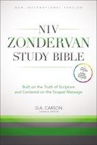 NIV Study Bible Burgundy Bonded Leather