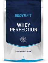 Body & Fit Whey Perfection - Eiwitpoeder / Eiwitshake - 750 gram - Cookies & Cream milkshake