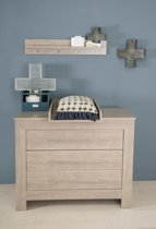 Bebies First - Babykamer Nevada - Commode - Grijs