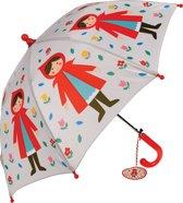 Kinder paraplu roodkapje