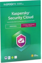 Kaspersky Security Cloud | Personal | 3 Apparaten | 1 Jaar | Engelse verpakking | Alle Europese talen
