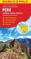 Peru, Colombia, Venezuela Map