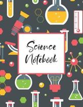 Science Notebook: Scientific Project Journal, Lab Tracker and Record Book