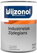 Wijzonol Industrielak Zijdeglans, Wit - 2,5 liter
