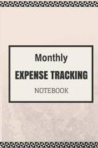Monthly Expense Tracker Notebook