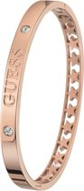 Guess - Guess stalen armband bangle roseplated Star