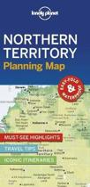 Lonely planet: northern territory planning map (1st ed)