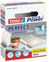 Tesa Extra Power Perfect Plakband - Wit - 10 mm x 2,75 m