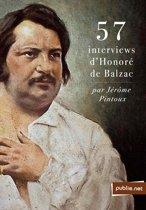 57 interviews d'Honoré de Balzac