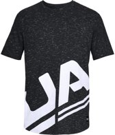 Under Armour Sportstyle Branded Tee 1318567-001, Mannen, Grijs, T-shirt maat: M EU