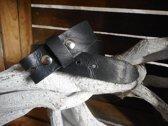 buckle riem zwart met nerf 4 cm breed maat 105